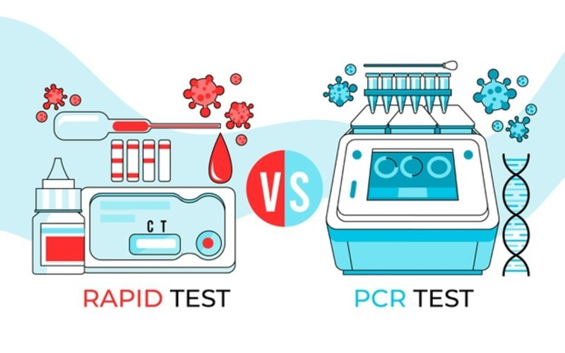 ¿En qué se diferencian las PCR y los test rápidos de coronavirus?